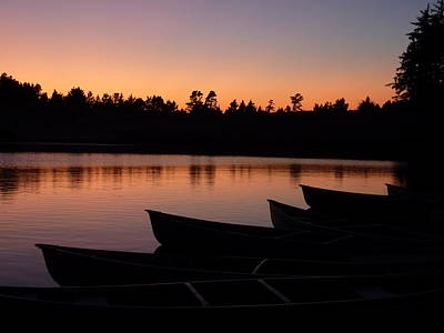Silence Of Lake Bradley Reflections Art Print by Cindy Wright