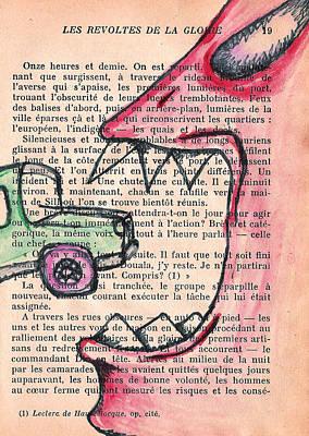 Silencieuses Monster Print by Jera Sky