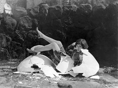 Humpty Dumpty Photograph - Silent Film Still, C1920s by Granger