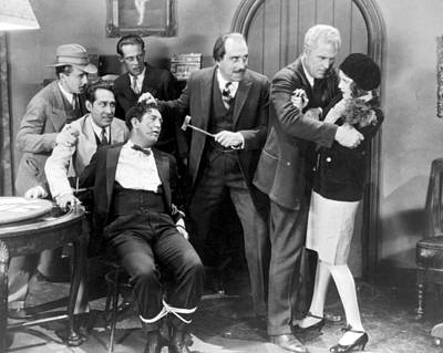 After Midnight Photograph - Silent Film Still: Gangsters by Granger