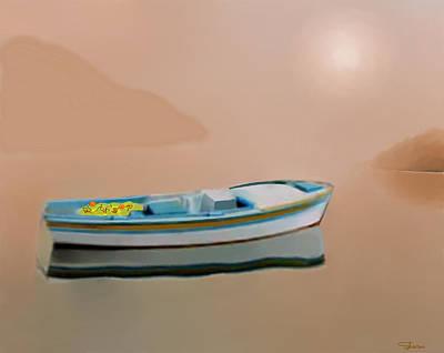 Silent Sea Art Print