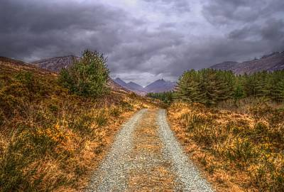 Photograph - Silent Valley Road by Matthew Green