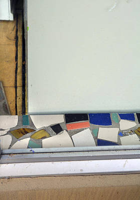 Photograph - Sill Of Tile by Ross Odom