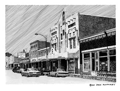Silver City New Mexico Art Print by Jack Pumphrey