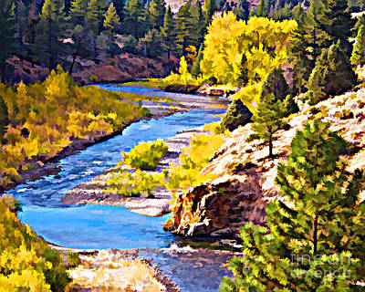Silver Creek Art Print