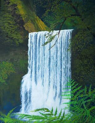 Robert Duvall Painting - Silver Falls by Robert Duvall