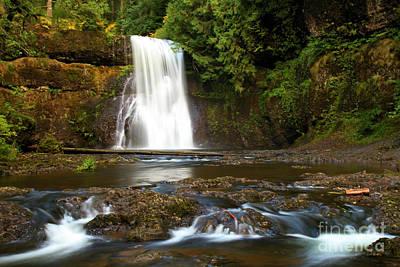 Photograph - Silver Falls Waterfall by Adam Jewell