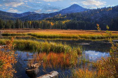 Photograph - Silver Lake In The Wasatch Mountains by Utah Images