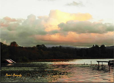 Photograph - Silver Lake Sunset by Sadie Reneau