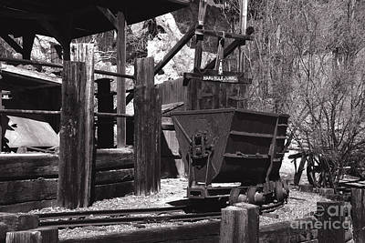 Silver Mining In Calico California Art Print
