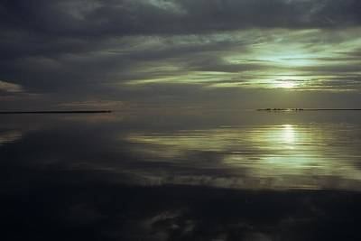 Photograph - Silver Sunset by David Campione