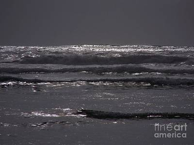 Photograph - Silver Surf by Erica Hanel
