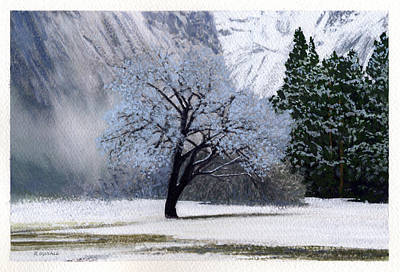 Robert Duvall Painting - Silver Tree by Robert Duvall