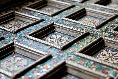 Silversmith Mosaic Print by Kantilal Patel