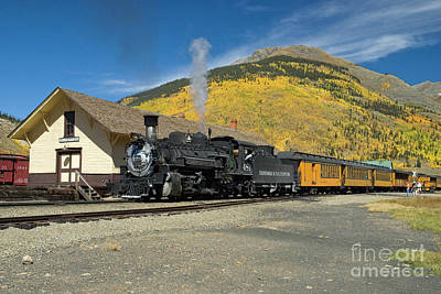 Photograph - Silverton Departure by Tim Mulina