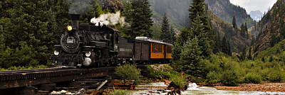 Photograph - Silverton Steam by Jonas Wingfield
