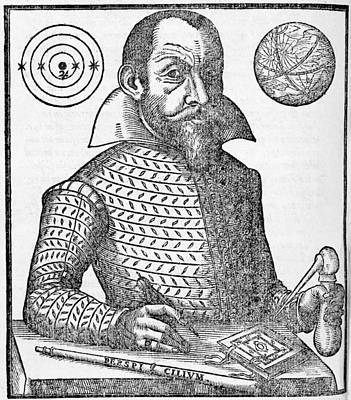 Simon Marius, German Astronomer Print by Middle Temple Library