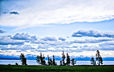 Y120831 Photograph - Simple Landscape In Yellowstone National Park by Jhillphotography