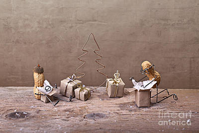 Simple Things - Christmas 08 Print by Nailia Schwarz