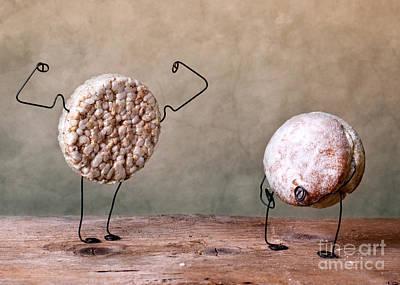 Metal Art Photograph - Simple Things 04 by Nailia Schwarz