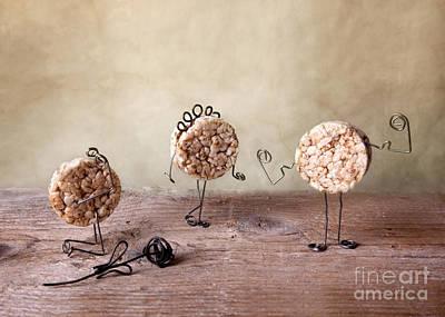 Metal Art Photograph - Simple Things 09 by Nailia Schwarz
