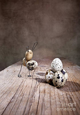 Eggs Photograph - Simple Things Easter 01 by Nailia Schwarz