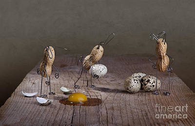 Eggs Photograph - Simple Things Easter 04 by Nailia Schwarz