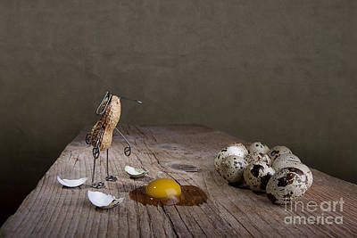 Eggs Photograph - Simple Things Easter 05 by Nailia Schwarz