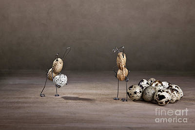 Easter Bunny Photograph - Simple Things Easter 09 by Nailia Schwarz