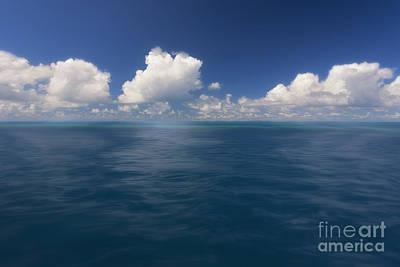 Simplicity Great Barrier Reef Art Print