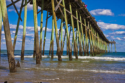 Pleasure Photograph - Simply Pier by Betsy Knapp