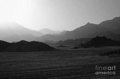 Sinai Desert And Mountains Art Print