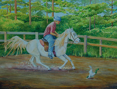 Painting - Sinbad by AnnaJo Vahle