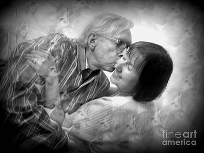 Photograph - Since 1973 . Love Eternal by Renee Trenholm