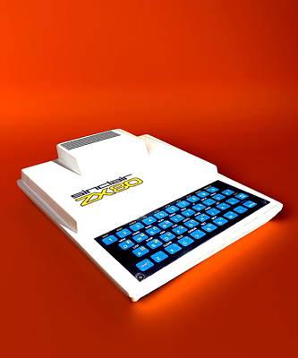 Sinclair Zx80 Personal Computer Art Print by Christian Darkin