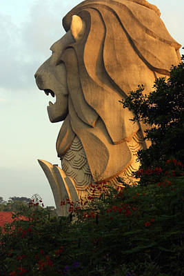 Photograph - Singapore Merlion by Paula St James