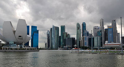 Photograph - Singapore Skyline by Chua  ChinLeng