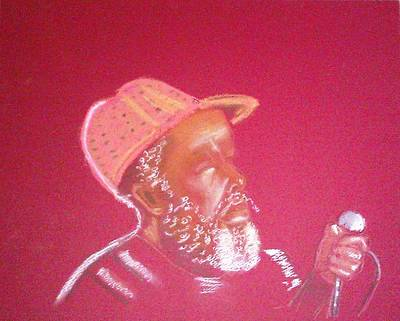 Painting - Singer Man by Lorna Lorraine