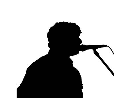 Singer Silhouette  Original by Mayo