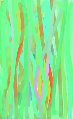Singing Willows Art Print