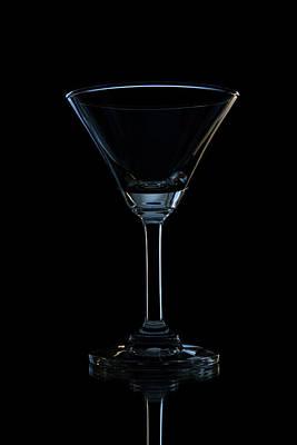 Single Empty Wine Glass Original