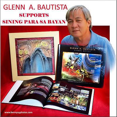 Photograph - Sining Para Sa Bayan 2011 by Glenn Bautista