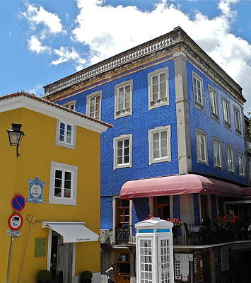Photograph - Sintra Portugal Buildings by Kirsten Giving