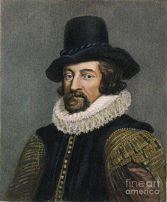 Sir Francis Bacon (1561-1626) Art Print by Granger