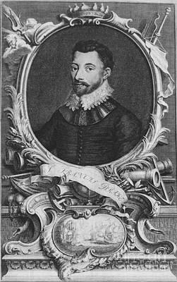 Sir Francis Drake, English Explorer Art Print by Photo Researchers, Inc.