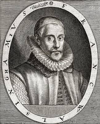 Sir Francis Walsingham, English Statesman Art Print