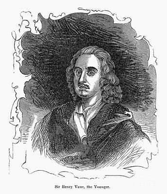 Sir Henry Vane (1613-1662) Art Print by Granger