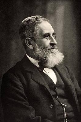 Biface Photograph - Sir John Evans Circa 1895 by Paul D Stewart