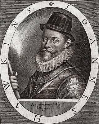 Sir John Hawkins, English Adventurer Art Print