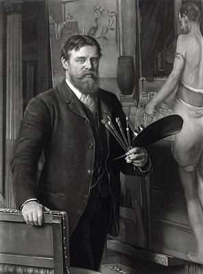 Tadema Photograph - Sir Lawrence Alma-tadema 1836-1912 by Everett